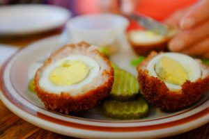 Chorizo Scotch Pullets Eggs